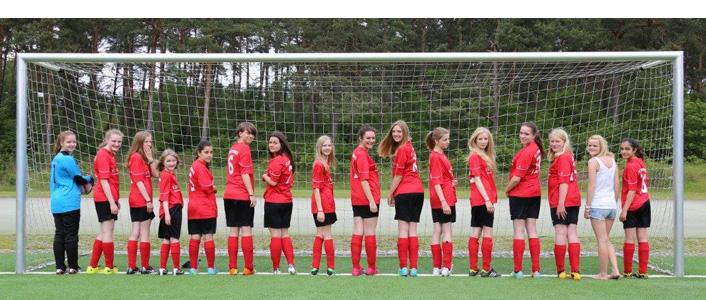 Mädchenfußballmannschaft des FC Stukenbrock