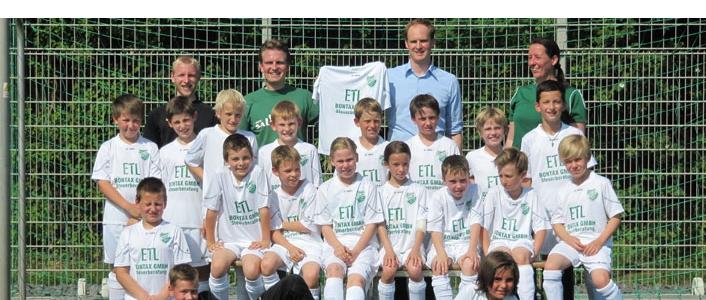 ETL Sportförderung: die Fußballer der Salia Sechtem