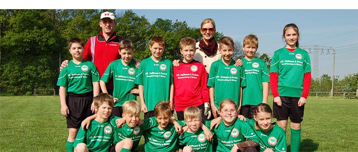 E-Jugendmannschaft des SV Großschwabenhausen