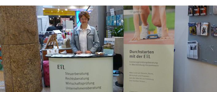 Unternehmerinnen-Messe im Schweriner Schlosspark-Center