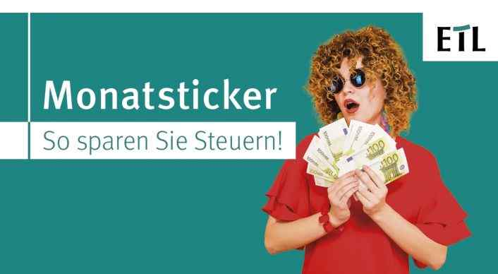 Veranstaltung: Monatsticker – So sparen Sie Steuern!