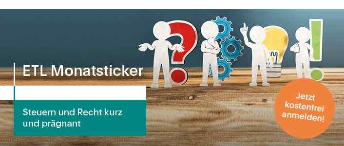 Veranstaltung: Online-Seminarreihe <q>ETL Monatsticker</q>